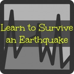 Be Prepared: Learn to Survive an Earthquake