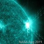 Solar CME Aug 2011