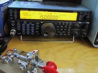 George Ure Ham Radio Setup