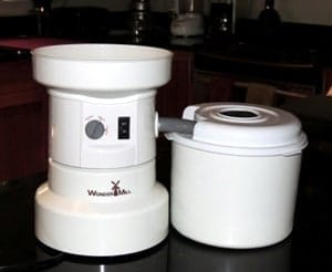 Grinding Wheat with the Incredible WonderMill