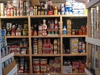 Crazy simple food storage canned 403