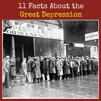 11 Facts About the Great Depression