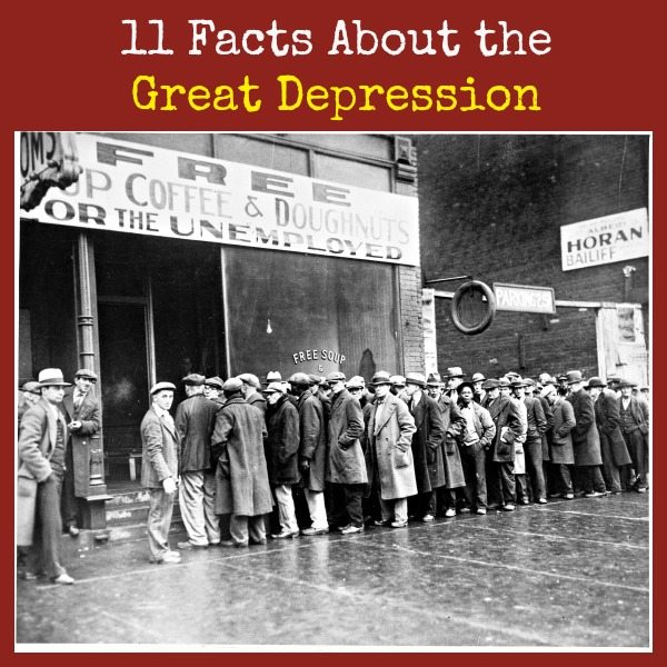 11 Facts About the Great Depression | Backdoor Survival