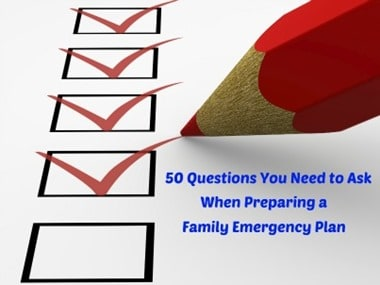 Survival Friday: Do You Have a Family Emergency Plan?