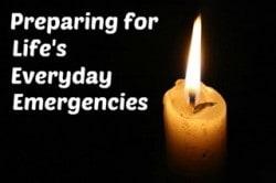 Fast Track Prep Tip #1: Preparing for Everyday Emergencies