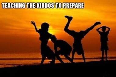 Survival Friday: Teaching the Kiddos to Prepare
