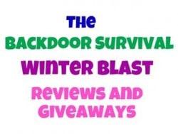Backdoor Survival Winter Blast Giveaway