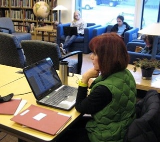 Blogging at the library