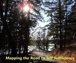 Mapping a Road to Self-Sufficiency