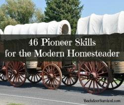 46 Pioneer Skills for the Modern Homesteader