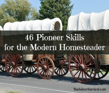 46 Pioneer Skills for the Modern Homesteader