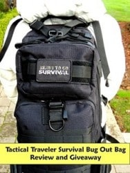 Review: The Tactical Traveler Bug Out Bag