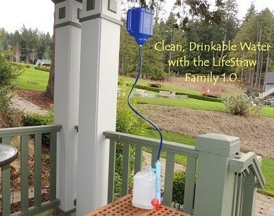 Clean, Drinkable Water – LifeStraw Family Review