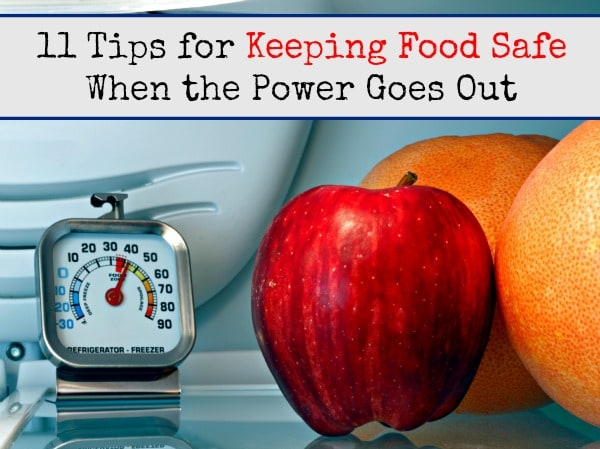 11 Tips for Keeping Food Safe When the Power Goes Out | Backdoor Survival