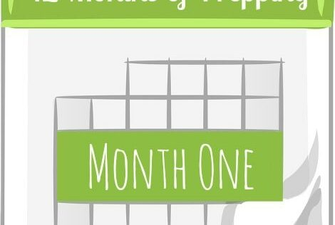 12 Months of Prepping: Month One