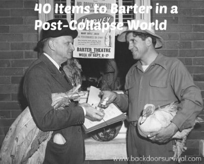 40 Items to Barter