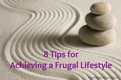 8 Tips for Frugal Lifestyle