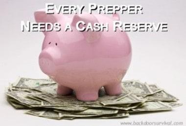 Fast Track Prep Tip #5: Every Prepper Needs a Cash Reserve