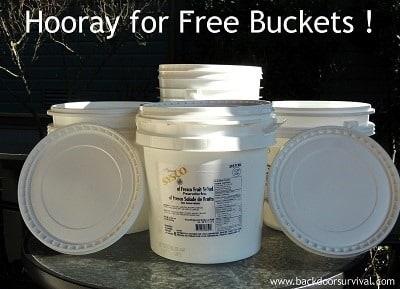 Free Buckets