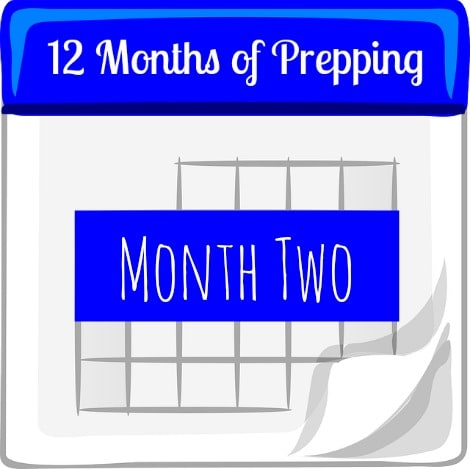 12 Months of Prepping Month Two - Backdoor Survival