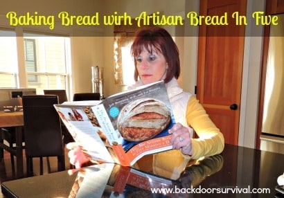 Baking Bread with The New Artisan Bread in Five