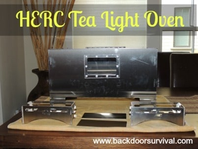 Off-Grid Cooking with the Amazing HERC Tea Light Oven