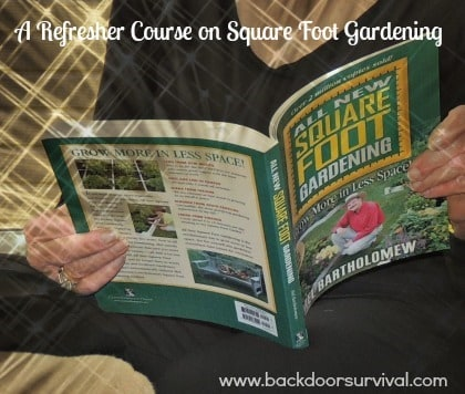 Refresher Course on Square Food Gardening