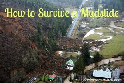 Survive a Mudslide Backdoor Survival
