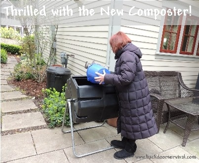 Thrilled with the New Composter
