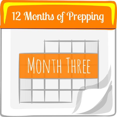 12 Month of Prepping Month Three - Backdoor Survival
