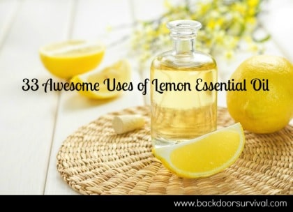 33 Awesome Uses of Lemon Essential Oil   Backdoor Survival