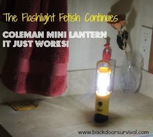 Coleman Mini Lantern - BDS