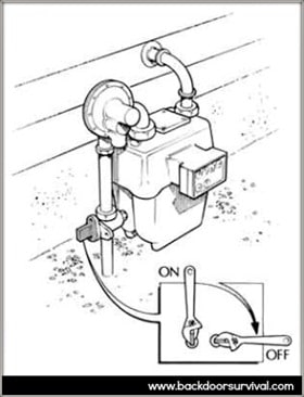 Gass Shutoff - Backdoor Survival