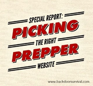 Special Report: Picking the Right Prepper Website