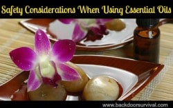 Safety Considerations When Using Essential Oils