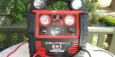 Cen-Tech 5 in 1 Portable Power Pack Review