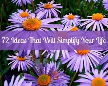 Beyond Prepping: 72 Ideas That Will Simplify Your Life