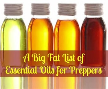 Essential Oils for Preppers