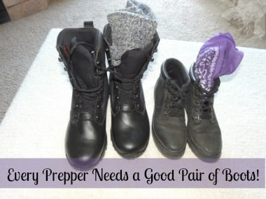 Every Prepper Needs a Good Pair of Boots 320