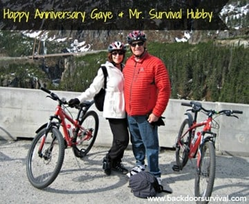 Happy Anniversary Gaye & Survival Hubby