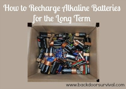 How to Recharge Batteries for the Long Term