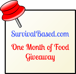 Free Food: Survival Based One Month of Food