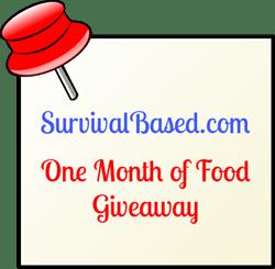 Survival Based Free Food Giveaway