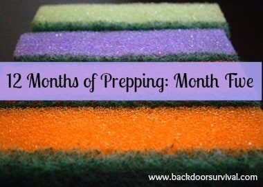 12 Months of Prepping: Month Five   Backdoor Survival