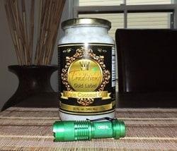 Coconut Oil and Green Mini Cree