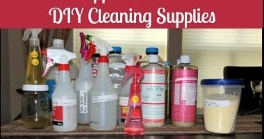 Prepper Checklist: DIY Cleaning Supplies