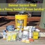 Summer Survival Blast: Win a Honey Bucket 2-Person Survival Kit