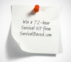 Win a 72-hour Survival Kit from Survival Based
