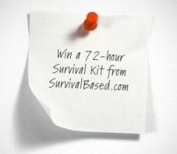 SurvivalBased 72 hour kit