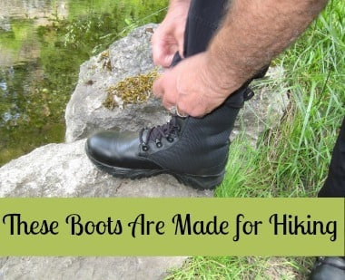 These Boots Are Made for Hiking BDS
